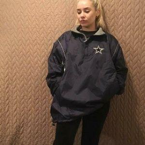 Dallas Cowboys Reversible Pullover Jacket